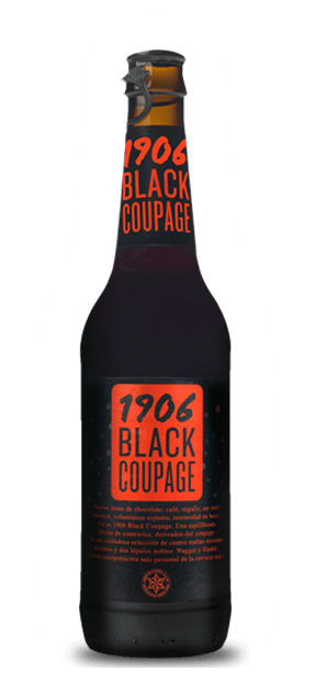 Botella Black Coupage