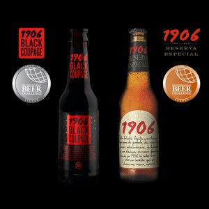 1906 reserva especial a specially brewed dark amber lager beer